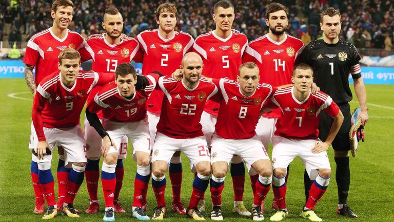 ทีมชาติรัสเซีย