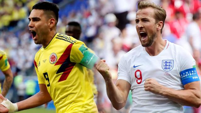 อังกฤษ vs โคลัมเบีย