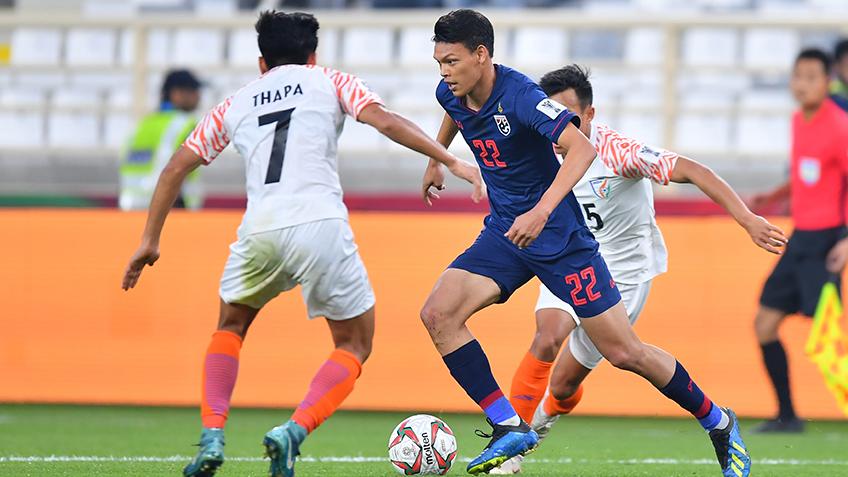 ทีมชาติไทย พบ ทีมชาตอินเดีย